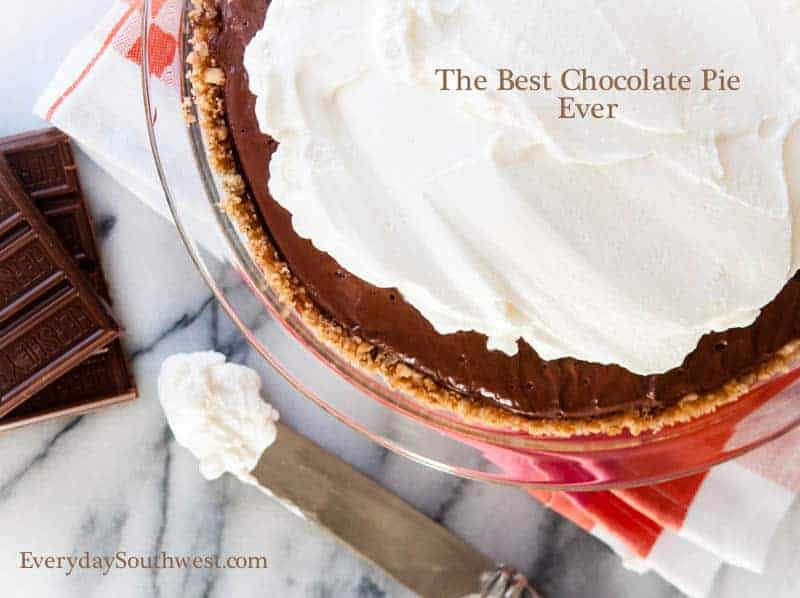 The Classic Chocolate Cream Pie Recipe and a Love Story - Everyday ...