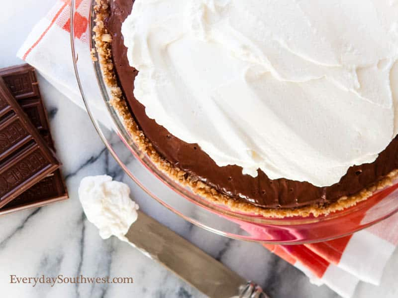 The Classic Chocolate Cream Pie Recipe and a Love Story