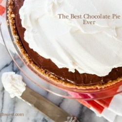 Best Chocolate Cream Pie Recipe