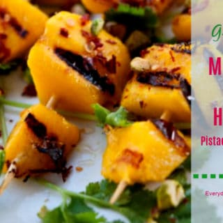Grilled Mango with Honey Everyday Southwest