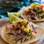 Slow Cooker Hawaiian Kalua Pork Tacos