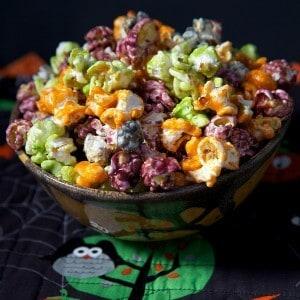 Halloween Snack Colored Caramel Pop