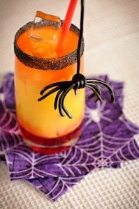 Spooky Halloween Spider Punch Recipe