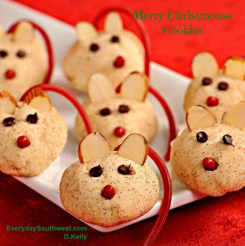 Merry Christmouse Cookies—Easy Christmas Cookie Recipe