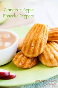 Thumbnail image for Cinnamon Apple Pancake Dippers—And a Giveaway