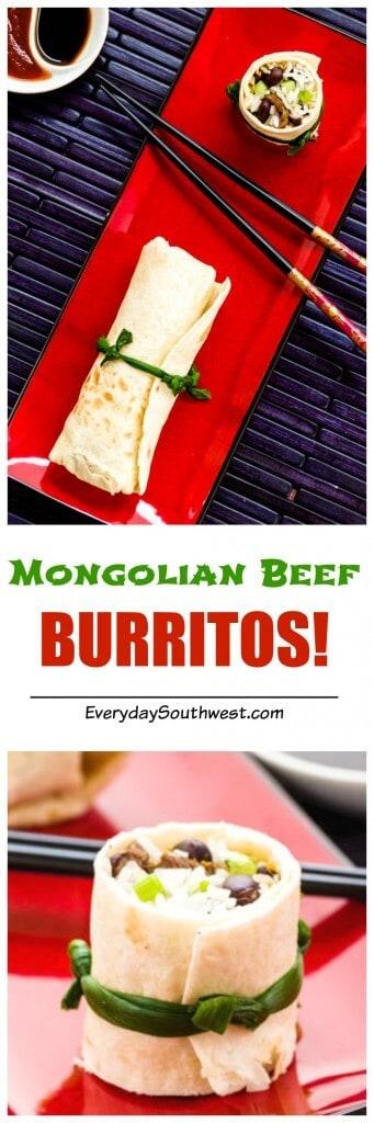 BURRITOS! Mongolian Beef