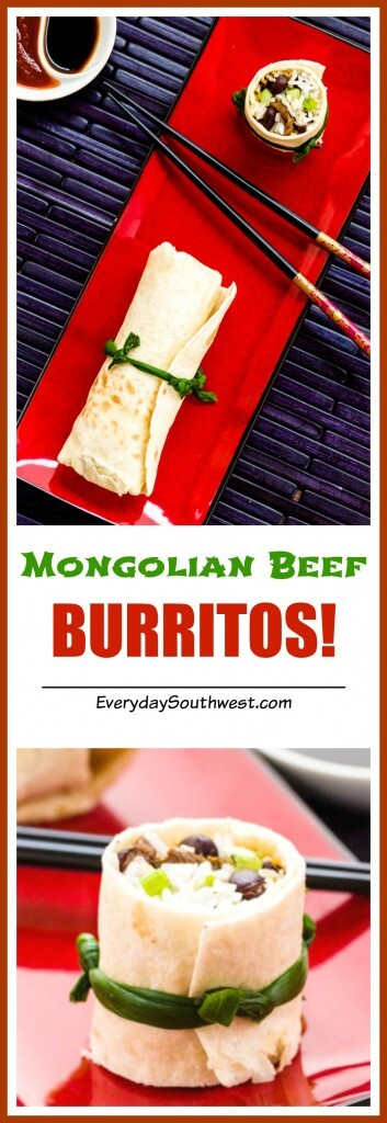 BURRITOS! Mongolian Beef Recipe