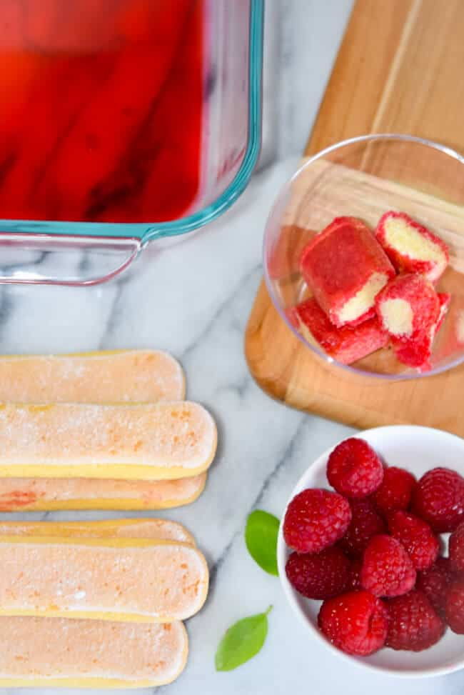 How to make Lemon Raspberry Tiramisu