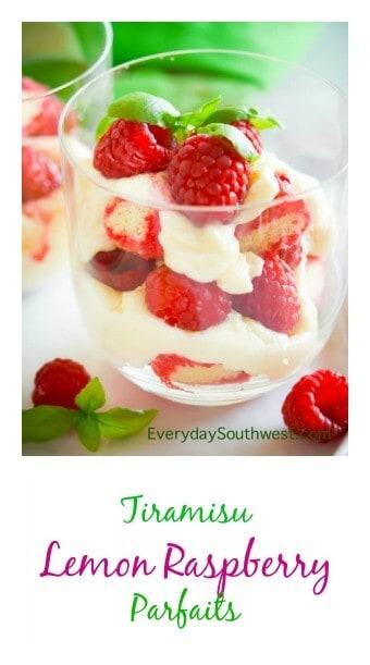 Lemon Raspberry Tiramisu Parfait (title)