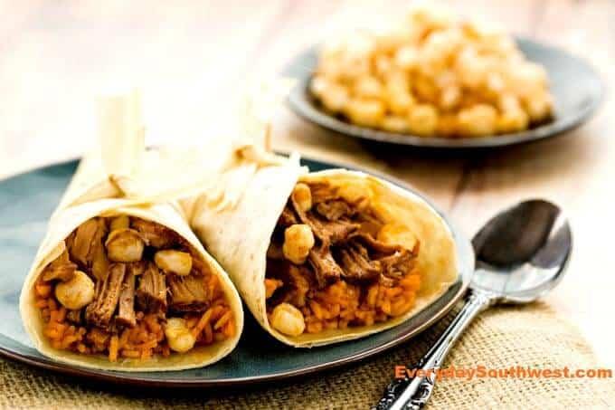Posole Burrito Recipe