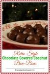 Chocolate Coconut Bon Bon Recipe