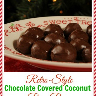 Retro-Style Chocolate Covered Coconut Bon-Bons PLUS a HUGE Amazon Gift Card Giveaway!!