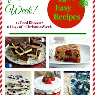 2nd Day of Christmas Week Recipes