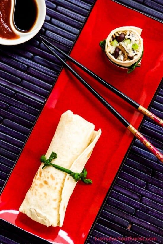 Mongolian Beef Burritos Recipe
