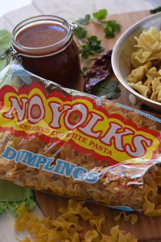 Mexican Enchilada Noodle Bake