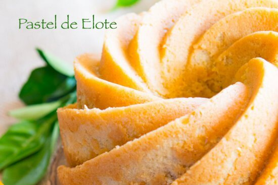 Fresh Corn Pound Cake or Pastel de Elote