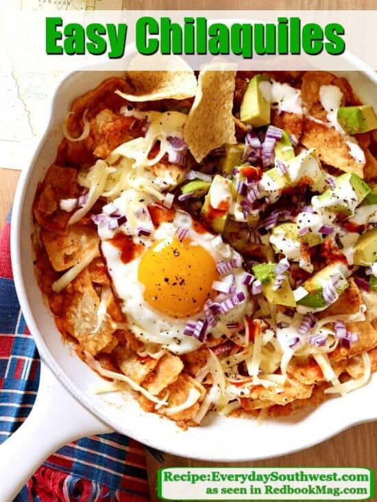 Chilaquiles Recipe with Roasted Salsa