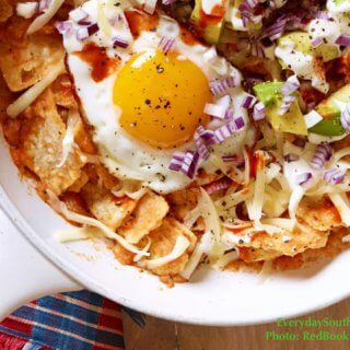 Mexican Chilaquiles Recipe with Fresh Roasted Salsa