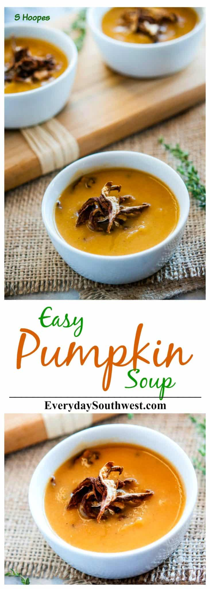 Thanksgiving Soup Recipe with Mushroom Soup Garnish