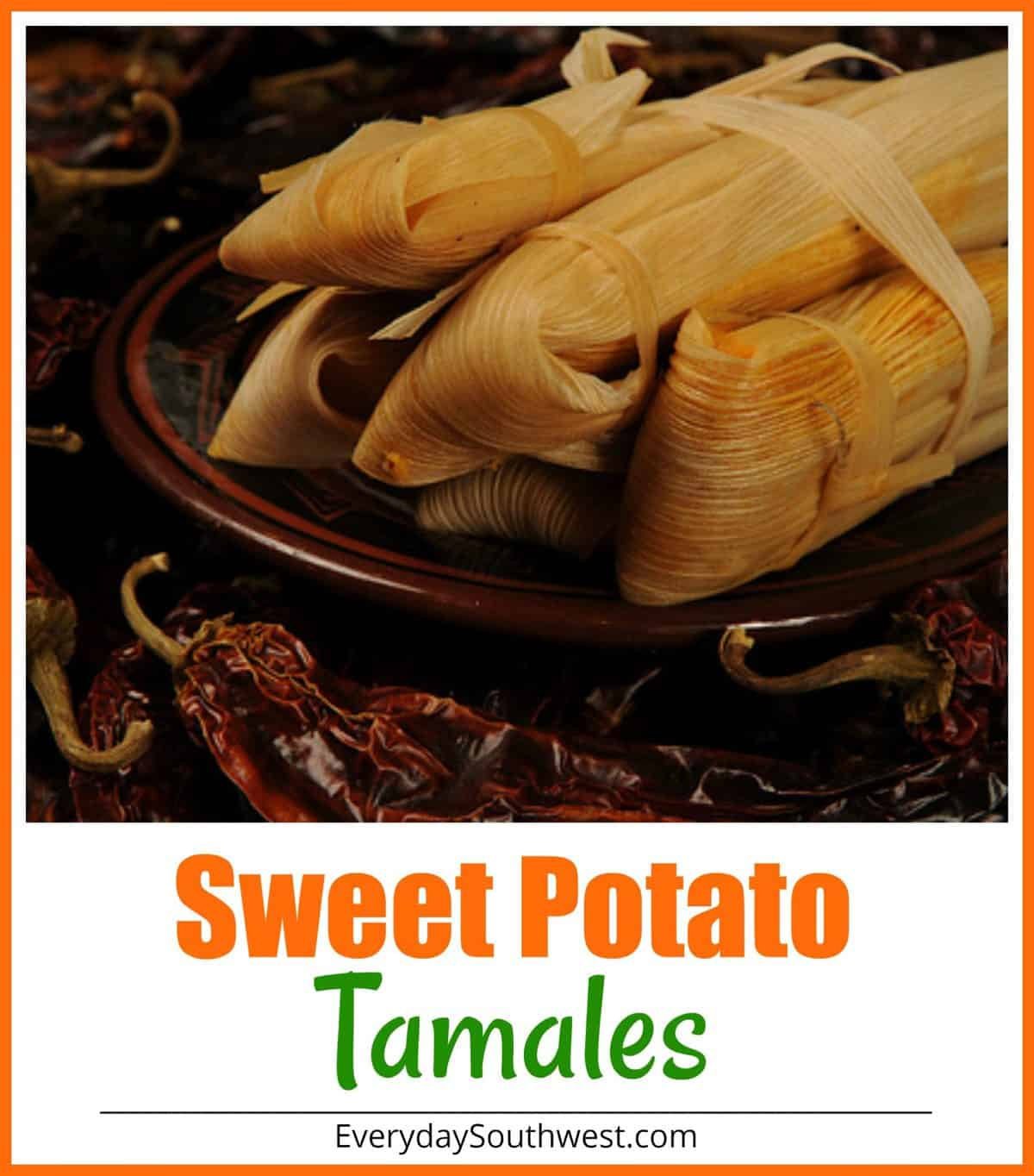 Easy Sweet Potato Tamales with Chipotle and Pecans PLUS they are meatless!