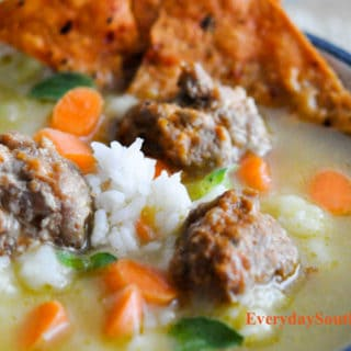 Albondigas! Easy Mexican Meatball Recipe