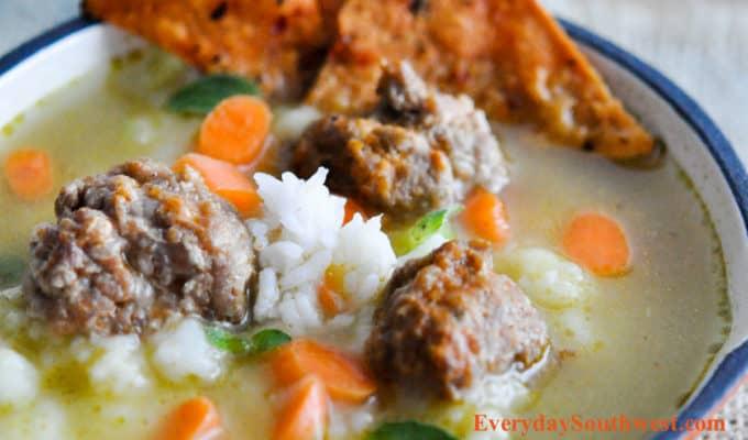 Albondigas! Easy Mexican Meatballs Recipe