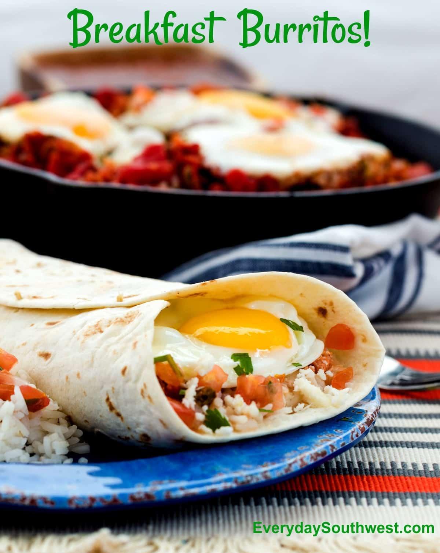 Breakfast Burrito Recipe Huevos El Diablo