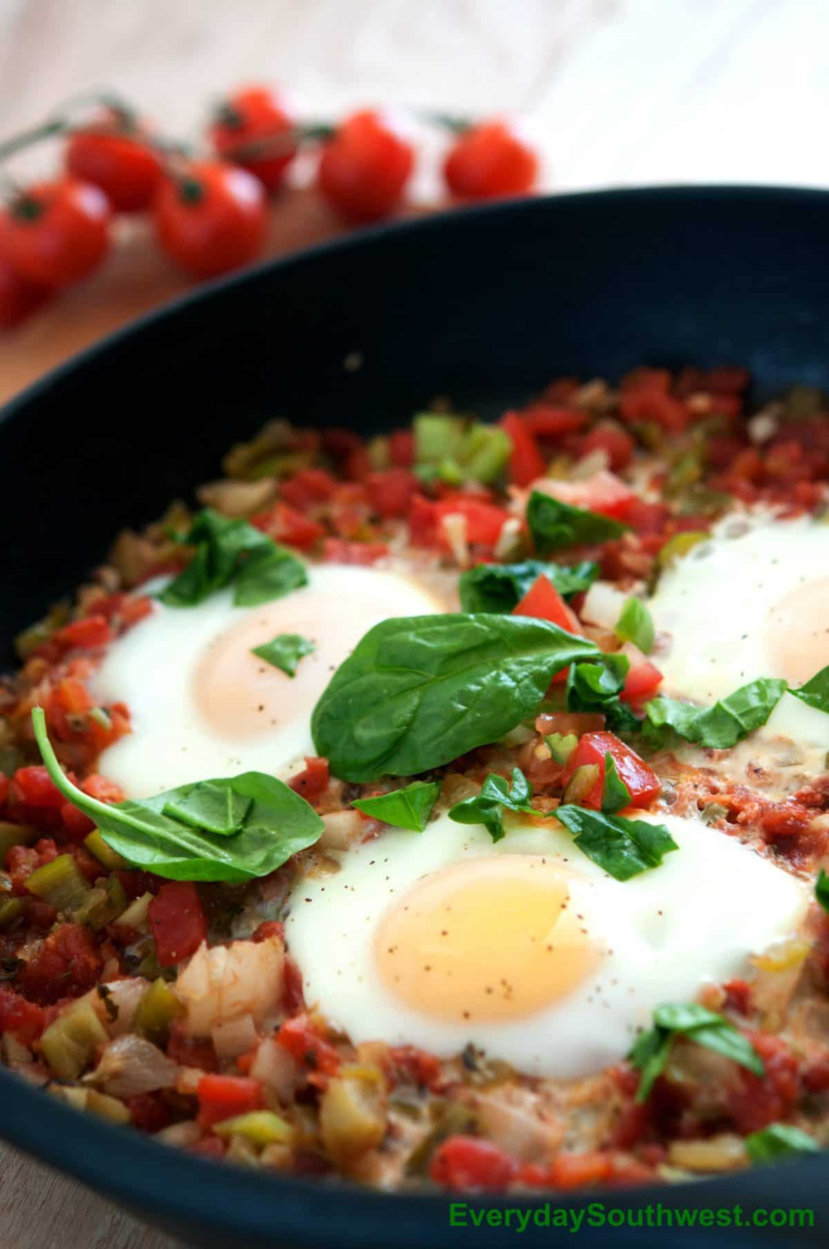 Huevos El Diablo or Eggs Diablo Recipe