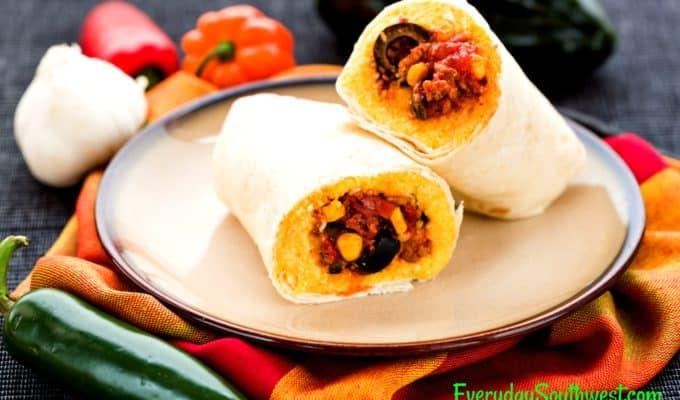 Tamale Pie Burritos Recipe —It's Whats for Dinner!