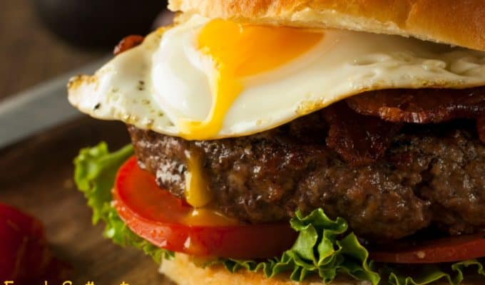 Gourmet Burger Recipe-MexiCali Burger