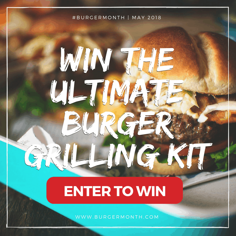 Gourmet Burger Recipe Grilling Kit Giveaway #BurgerMonth