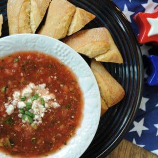 Watermelon Gazpacho Soup Recipe