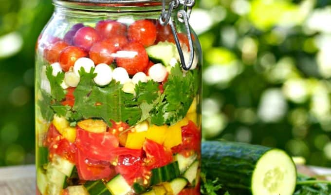 Gazpacho Recipe in a Jar