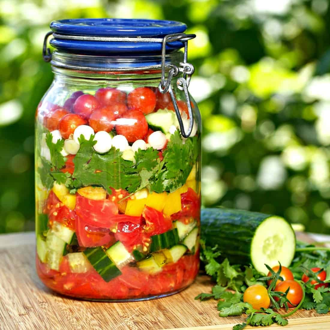 Gazpacho in a Jar Recipe