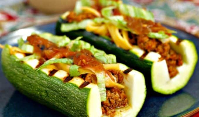 Taco Zucchini Boats Recipe