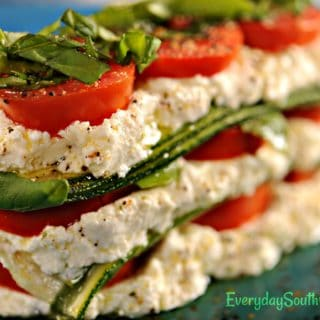 Keto Zucchini Lasagna Recipe