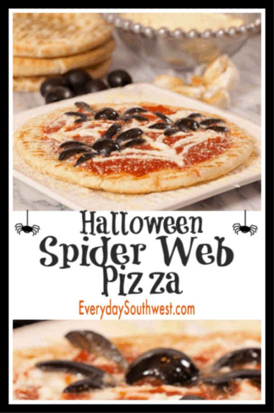 Halloween Pizza Recipe-Easy Dinner Recipe for Halloween