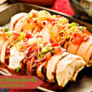 Grilled Chicken Breast Burrito Recipe