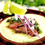 Carne Asada Tacos or Grilled Steak Tacos