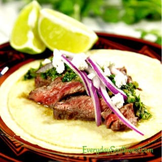 Carne Asada Tacos or Grilled Steak Tacos