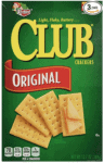 Rectangle Crackers for Tombstone Chili Recipe