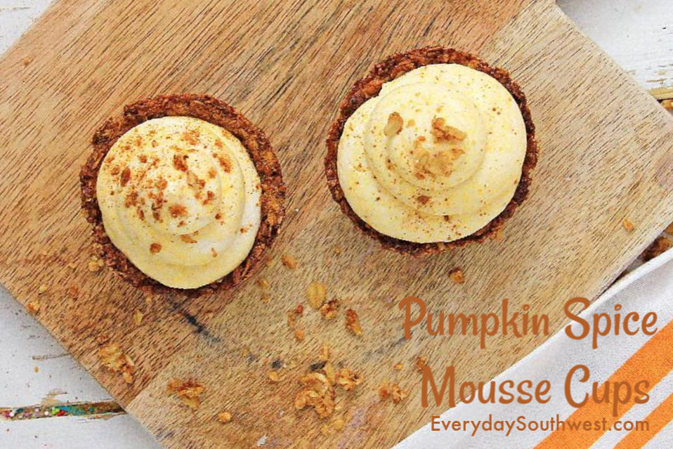 Individual Pumpkin Spice Mousse Cups Recipe