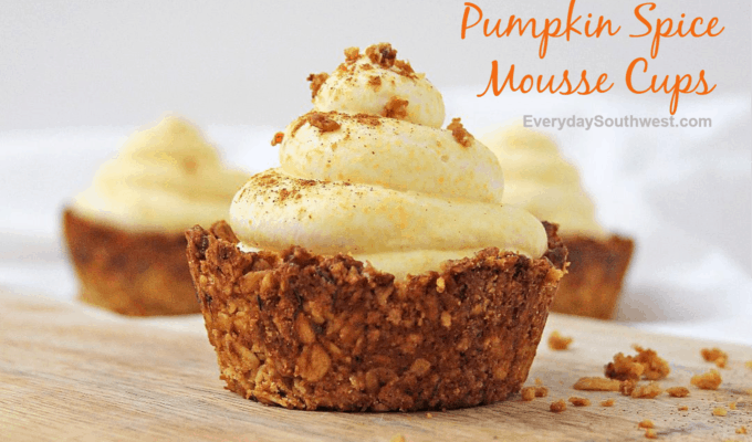 Pumpkin Spice Mousse Cups