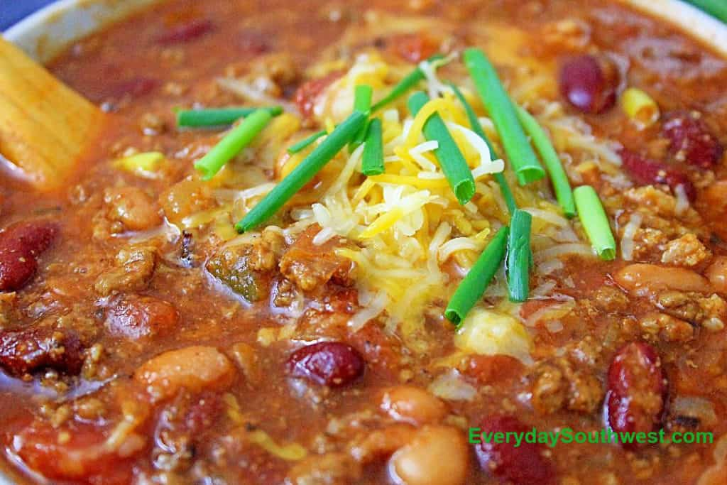 Ground Turkey Chili in an Instant Pot