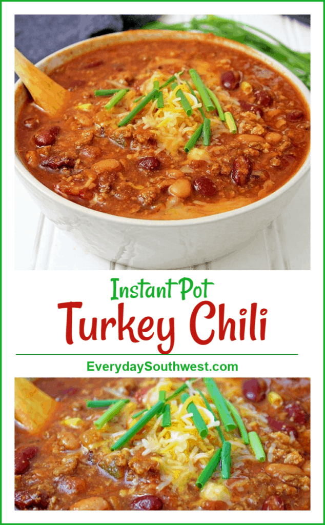 Turkey Chili in an Instant Pot