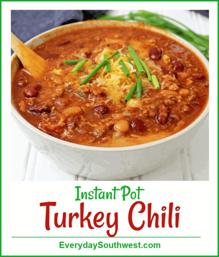 Ground Turkey Chili Instant Pot Recipe