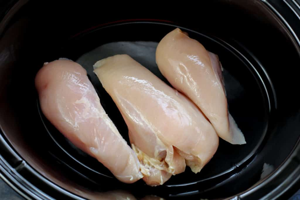 Slow cooker chicken recipe