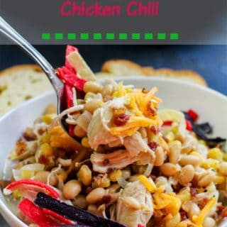 Slow Cooker Crack Chicken Chili