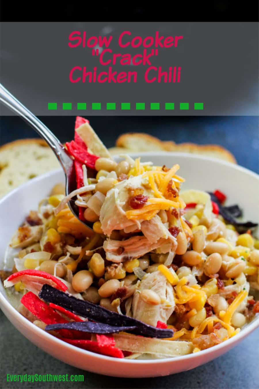 Slow Cooker Crack Chicken Chili Everyday Southwest,Origami For Beginners Step By Step