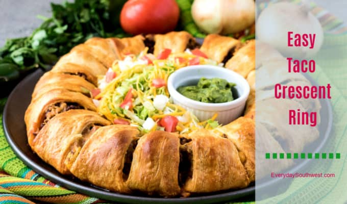 Taco Ring Recipe with Crescent Rolls